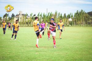 La Base y San Agustin FC por la primer fcha del campeonato.